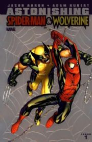 Astonishing Spider-man Wolverine #1 Chrome Retail Variant 1:25 (2010) Marvel comic book